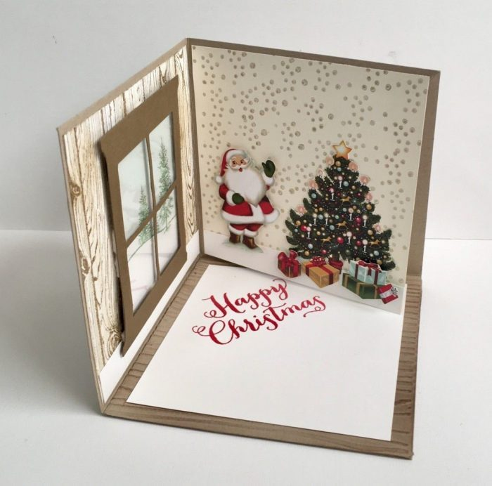 4D Christmas Card Ideas