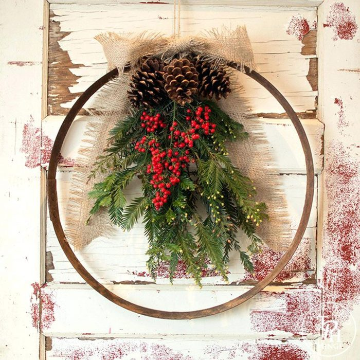 Christmas Wreath Ideas With Tight Budget