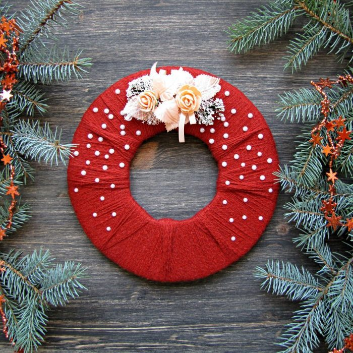Circular Christmas Wreath Ideas