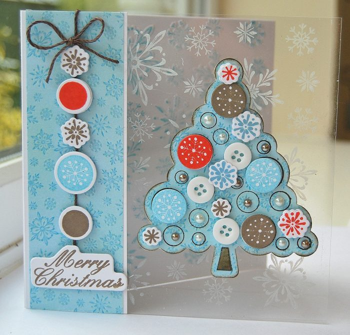 Christmas Tree On The Card
