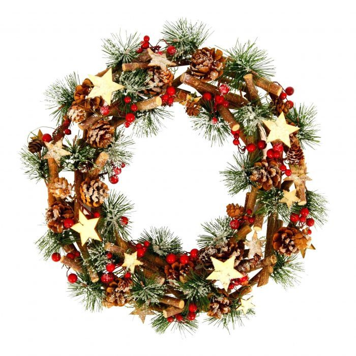 Dried Wreath Ornaments