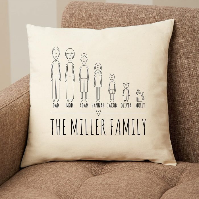 Family Pillow As Xmas Gifts