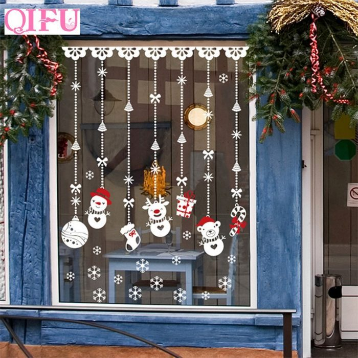 Christmas Decorating Ideas On The Window