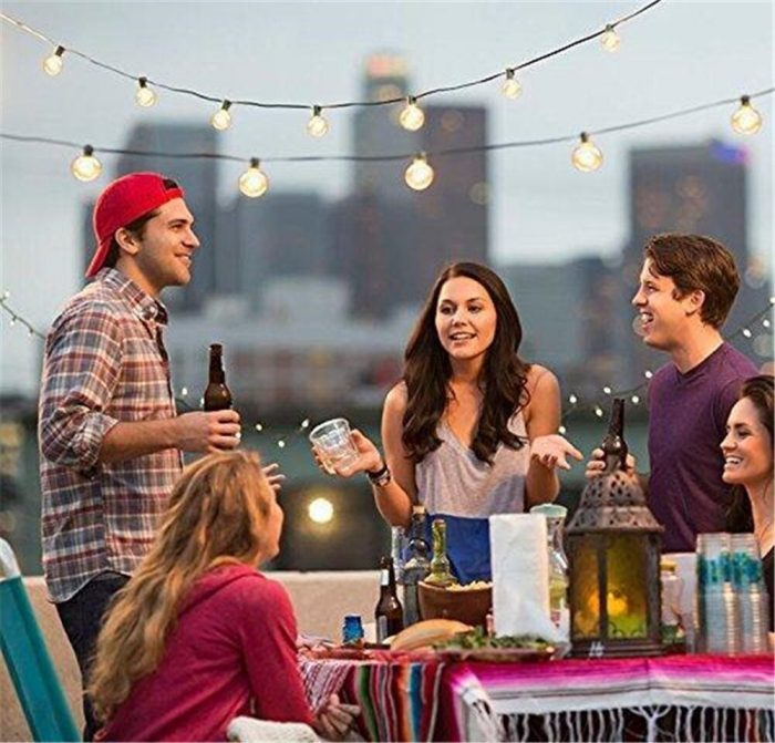 Outdoor Christmas Party Ideas