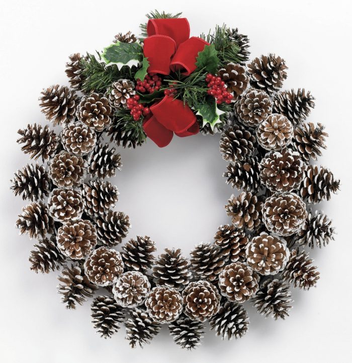 Pine Corn Wreath Ideas