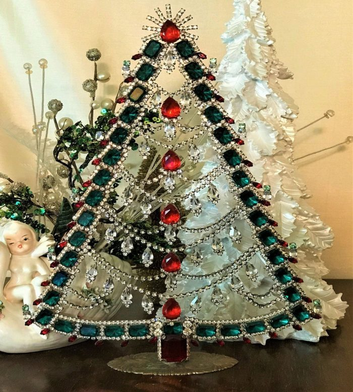 Sparkling Beaded Tree