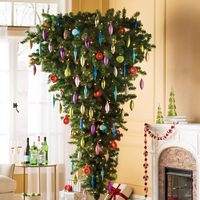 Up Side Down Christmas Tree Ideas