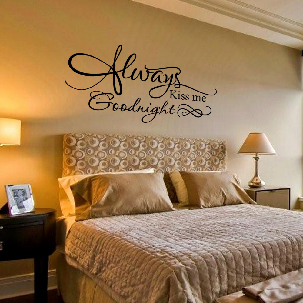 Decorate the wall with romantic decals