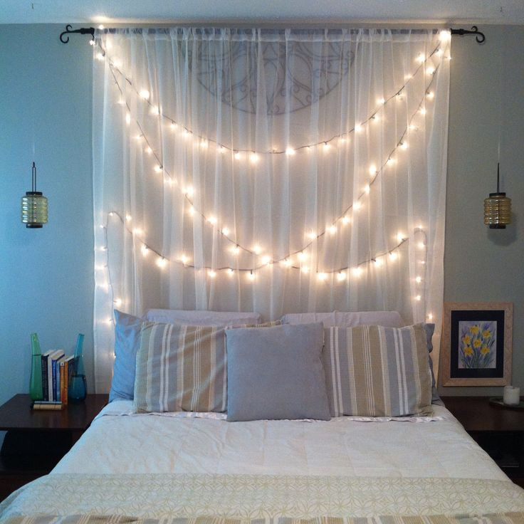 String lights for romanticdecoration
