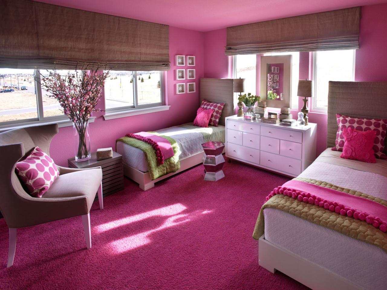 Violet Color Bedroom Ideas