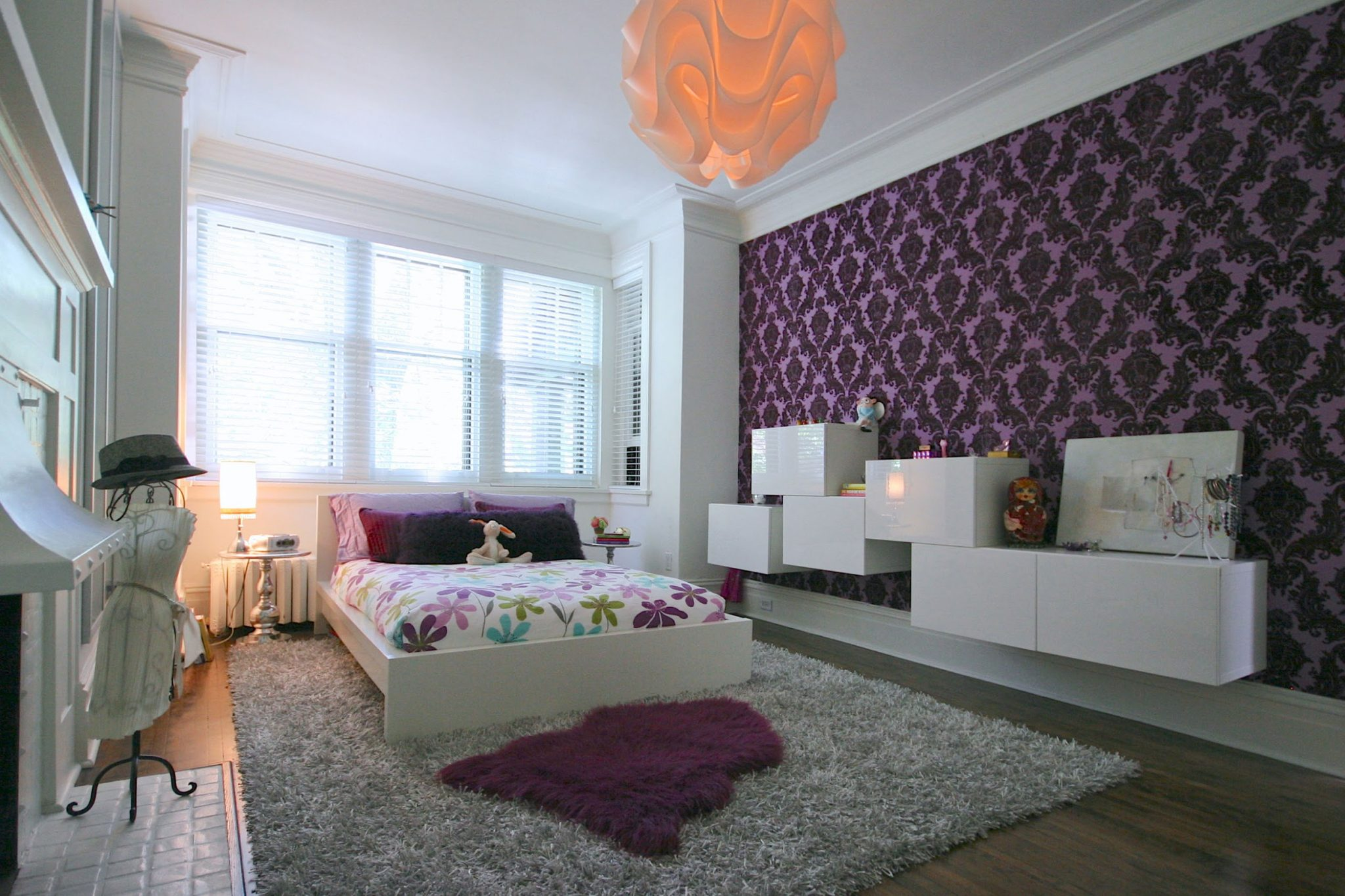 Teenage Girl Bedroom Ideas for Big Room
