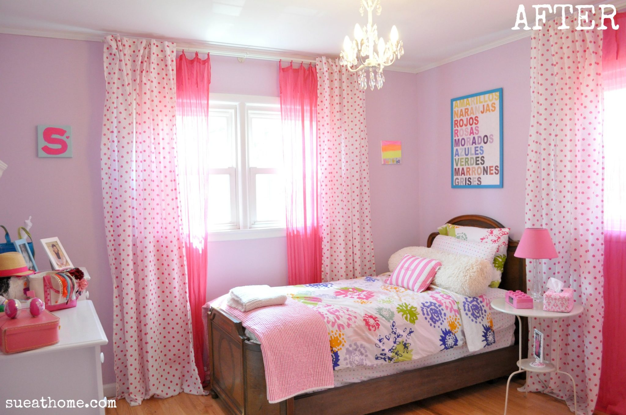 Curtain Teenage Girl Bedroom Ideas