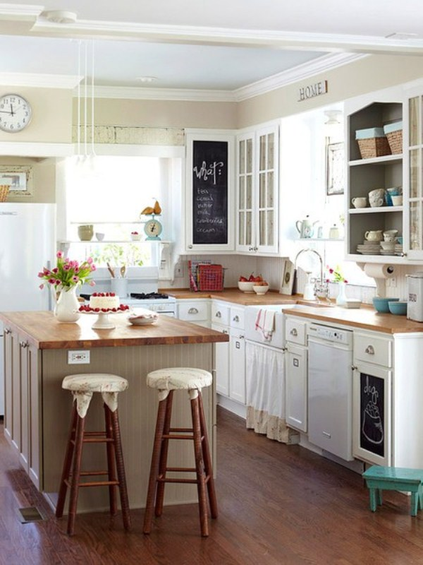Cute Kitchen for Parents With Kids - nidahspa