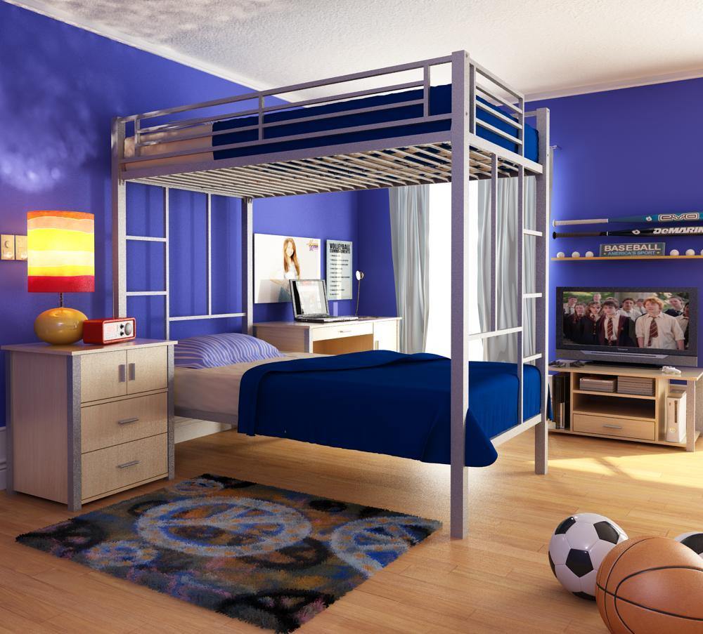 Use creative bunk bed