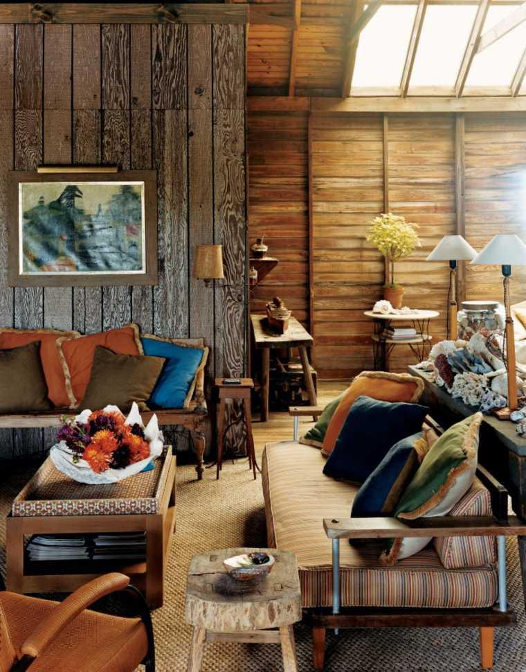 Wooden decoration for a rustic touch