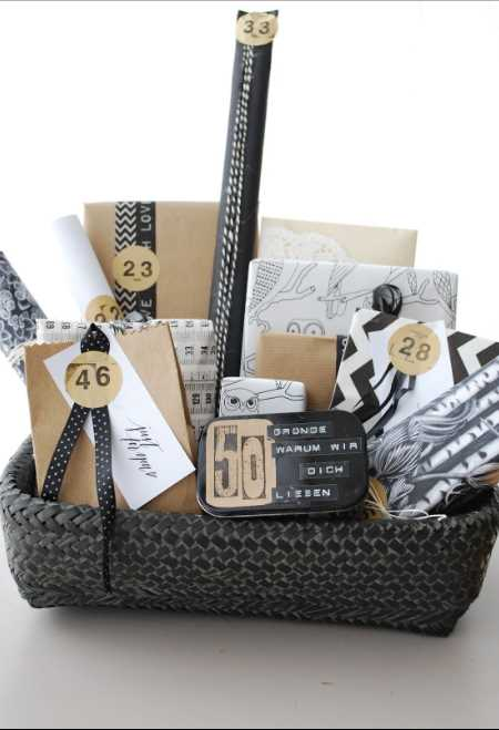 50th Birthday Gift Ideas for Men and