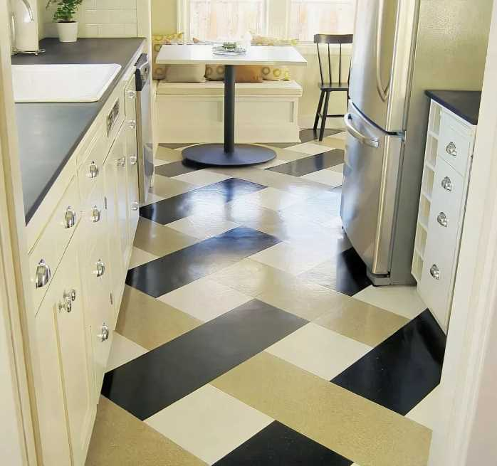 50 Unique Kitchen Flooring Ideas For A Lively Step Houseminds